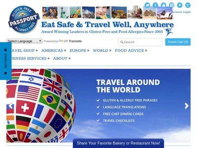 Gluten & Allergy Free Passport