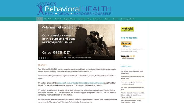 Taos Behavioral Health