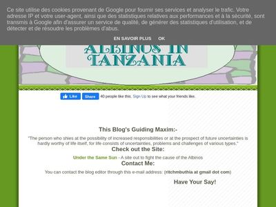 Tanzania Albino Society