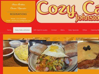 Cozy Cafe Johnston