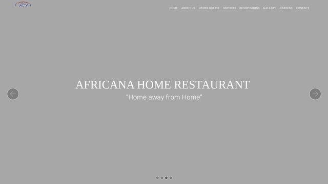 AFRICANA HOME RESTAURANT, Inc.