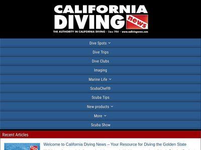 California Diving News