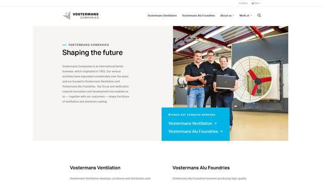 Vostermans Ventilation Inc