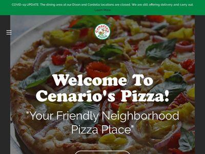 Cenario's Pizza