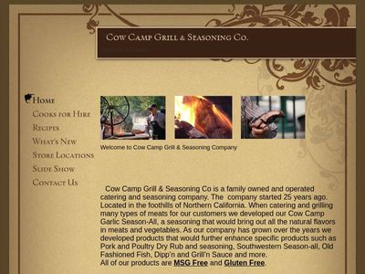 Cow Camp Grill & Seasoning Co.