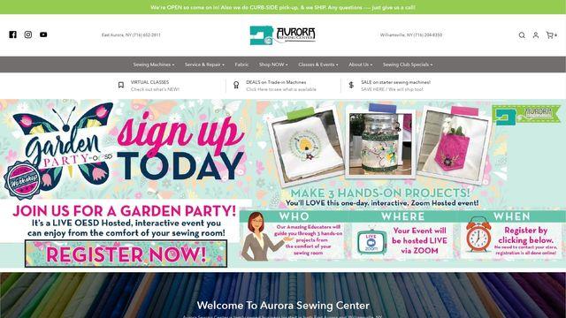 Aurora Sewing Center