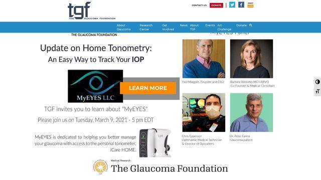 Glaucoma Foundation Inc