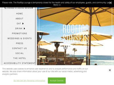 Rooftop Lounge and Laguna Beach