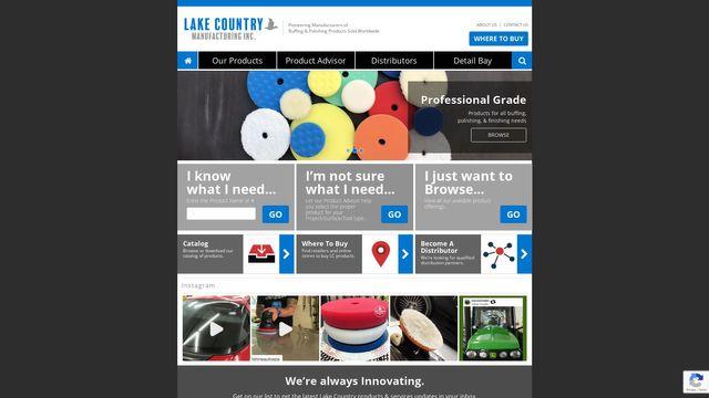 Lake Country Manufacturing, Inc.
