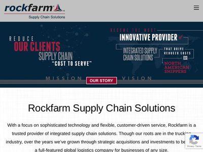 "Rockfarm Supply Chain Solutions, Inc. (""Rockfarm Supply Chain Solutions"")."