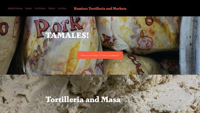 Ramirez Tortilleria and Marketa
