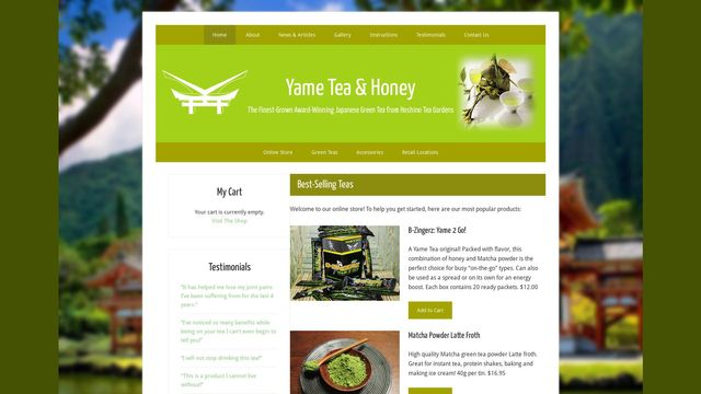 Yame Tea Canada Inc.