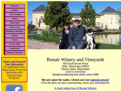 Bonair Winery, Inc.