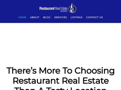 Restaurant Real Estate Advisors