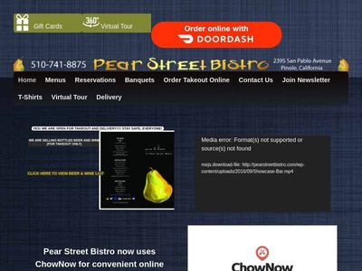 Pear Street Bistro