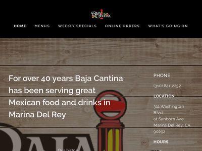 Baja Cantina Marina Del Rey