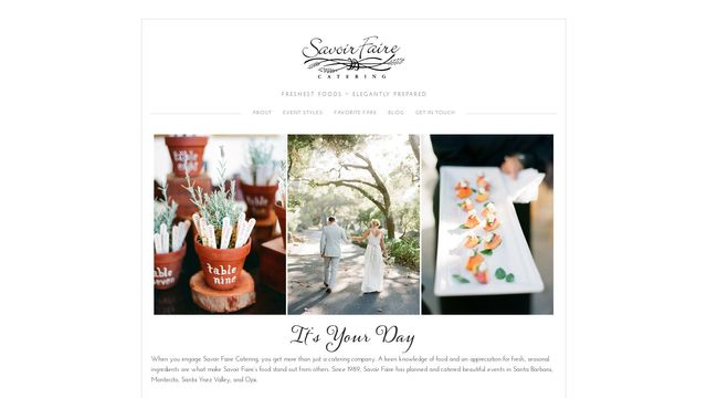 Savoir Faire Catering Company