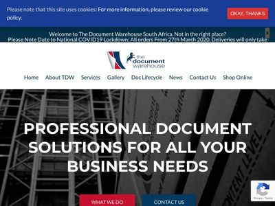 The Document Warehouse (Pty) Ltd