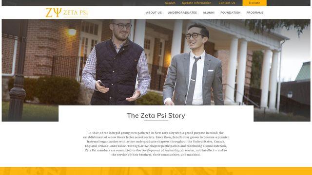 Zeta Psi Fraternity, Inc.
