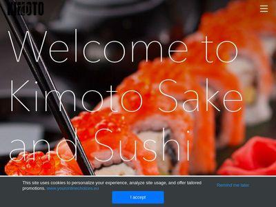 Kimoto Sake & Sushi