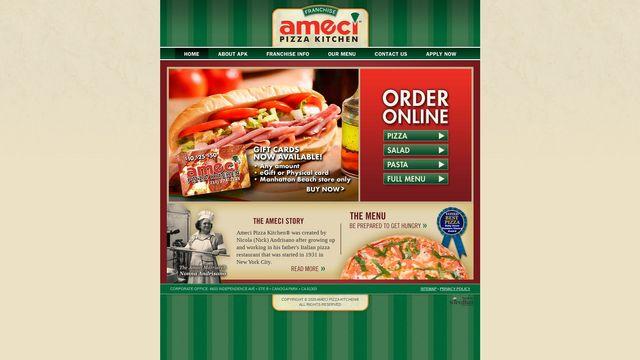 Ameci Pizza Kitchen(r), Inc.