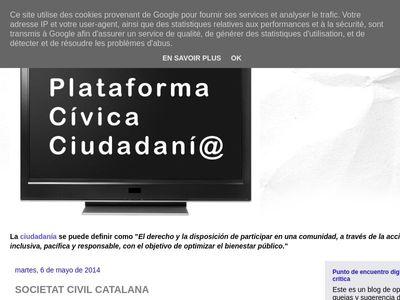 'SOCIETAT CIVIL CATALANA'