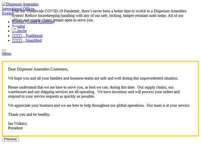 Dispenser Amenities Inc.