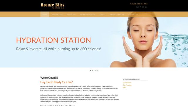 Bronze Bliss Tanning Inc.