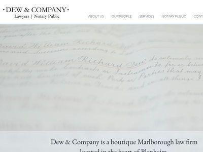 Dew & Company