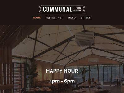 Communal Food & Drink