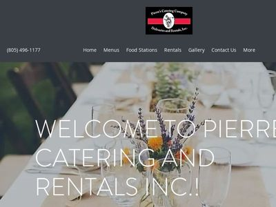 Pierre's Catering And Rentals Inc.