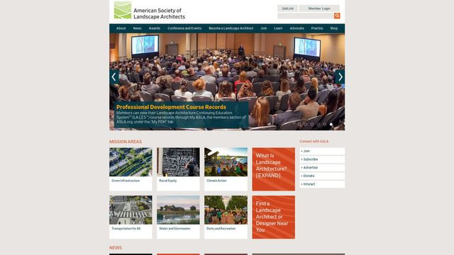 American Society of Landscape Architects, Inc.