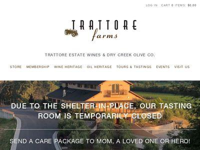 Trattore Estate Wines & Dry Creek Olive Company