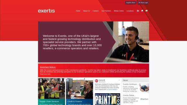 Exertis (UK) Ltd.