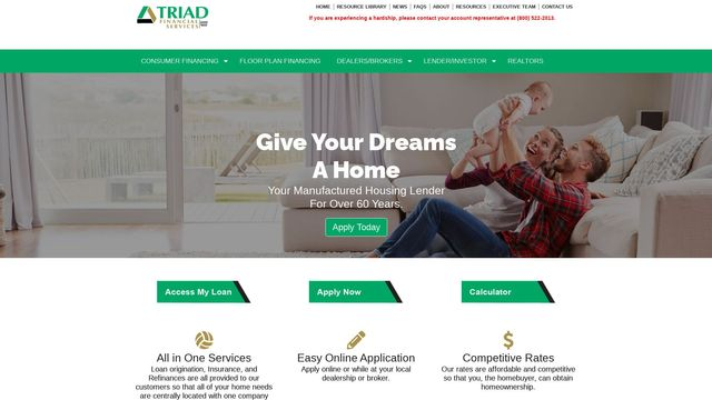 Triad Financial Services, Inc.