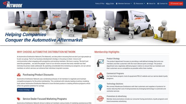 Automotive Distribution Network