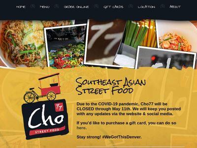 Cho77 Street Food