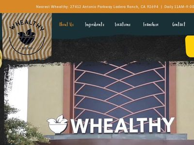 WHEALTHY fRANCHISE Inc.