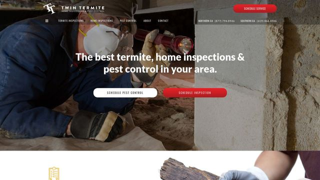 Twin Termite and Pest Control San Diego, Inc.