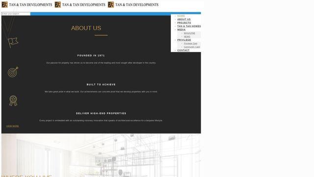 Tan & Tan Developments Berhad. Co.