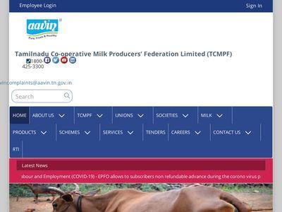 Tamilnadu Co-operative Milk Producers' Federation Limited