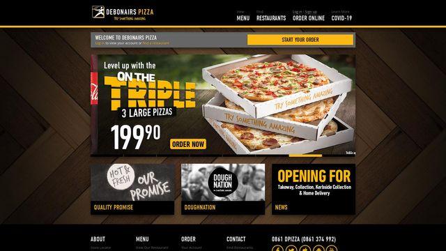 Debonairs Pizza SA