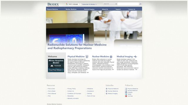 Biodex Medical Systems, Inc.