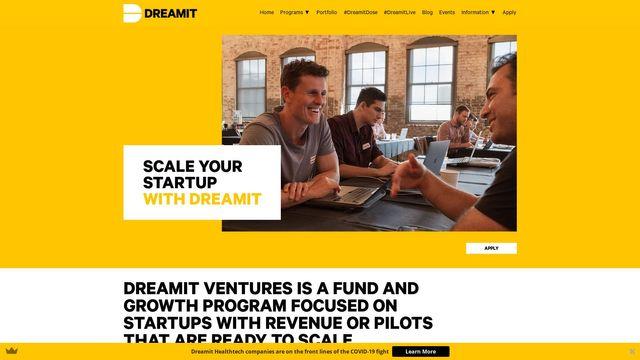 Dreamit Health company