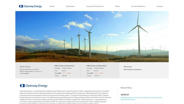 Clearway Energy, Inc.