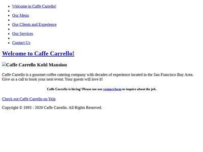 Caffe Carrello, Inc.