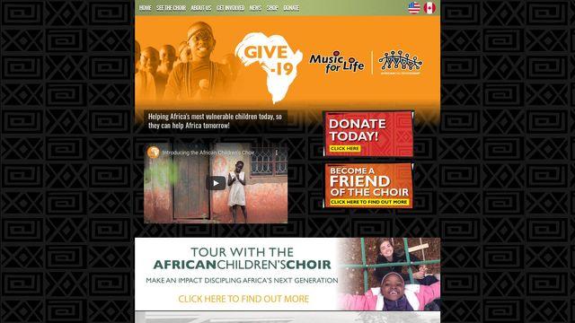 African Children's Choir UK