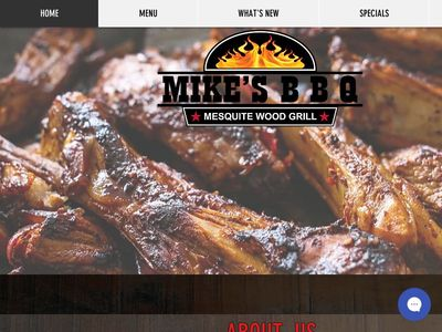 Mike's BBQ Mesquite Wood Grill