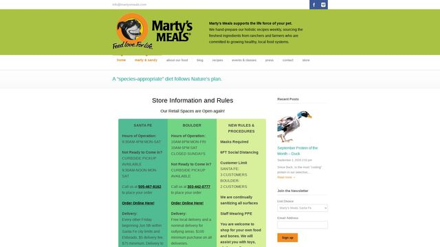 Marty's Meals