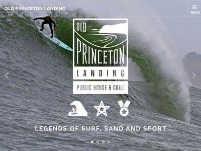 Old Princeton Landing